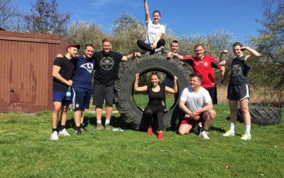 Strongman Training im Basement Gym